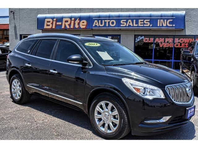 2013 Buick Enclave LOADED LEATHER PANO-ROOF SECOND ROW CAPT CHAIRS