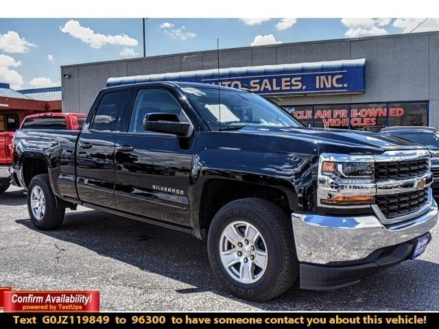2018 Chevrolet Silverado 1500 BLACK BEAUTY WITH  LT TRIM FACTORY WARRANTY