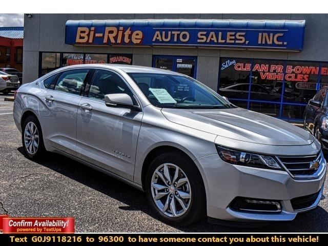 2018 Chevrolet Impala ONE OWNER LT TRIM SUPER CLEAN