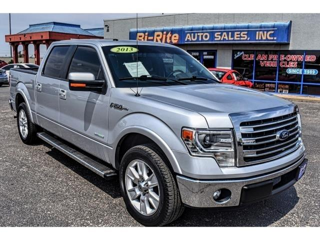 2013 Ford F-150 SUPER CREW LARIAT LEATHER AND LOADED