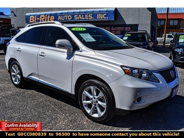 2012 Lexus RX 350 AWD 4DR, LEATHER, ALLOY WHEELS