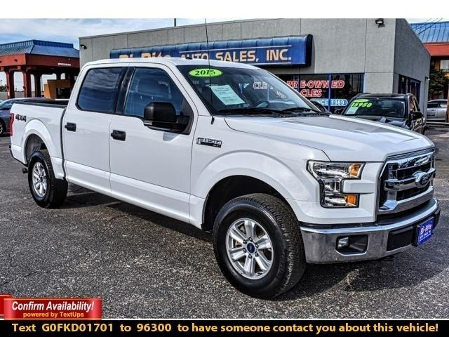 2015 Ford F-150 4WD F150, XLT, TOW PACKAGE, ALLOY WHEELS
