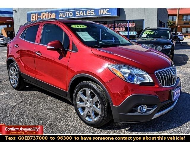 2014 Buick Encore AWD MID SIZE SUV, LOADED, NAV,ROOF,LEATHER, BACK U
