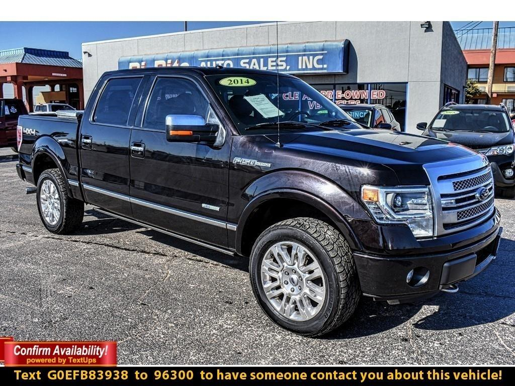 2014 Ford F-150 PLATINUM, HARD LOADED, HAS ALL THE BELLS AND WHIST