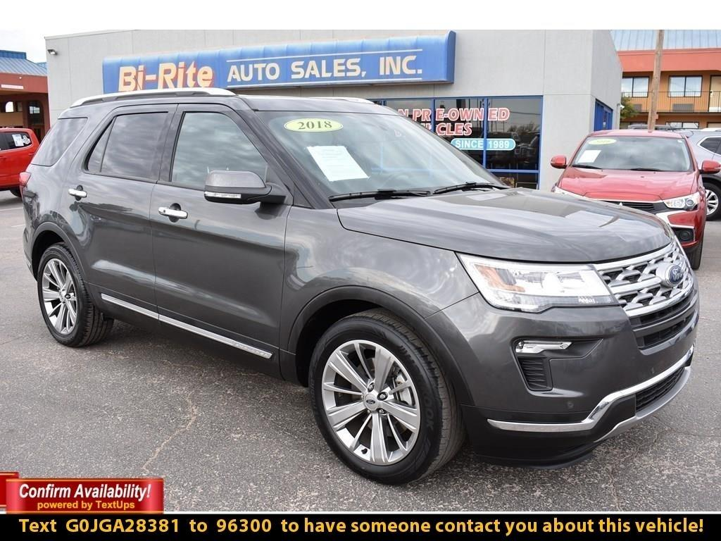2018 Ford Explorer LIMITED FWD, 3RD ROW FAMILY VEHICLE LOADED, COME S