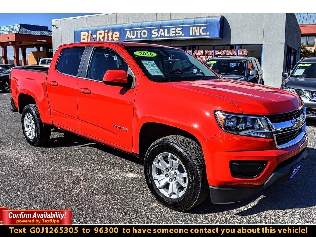 2018 Chevrolet Colorado 2WD CREW CAB LT, PERFECT FOR ANY JOB UP AHEAD !!