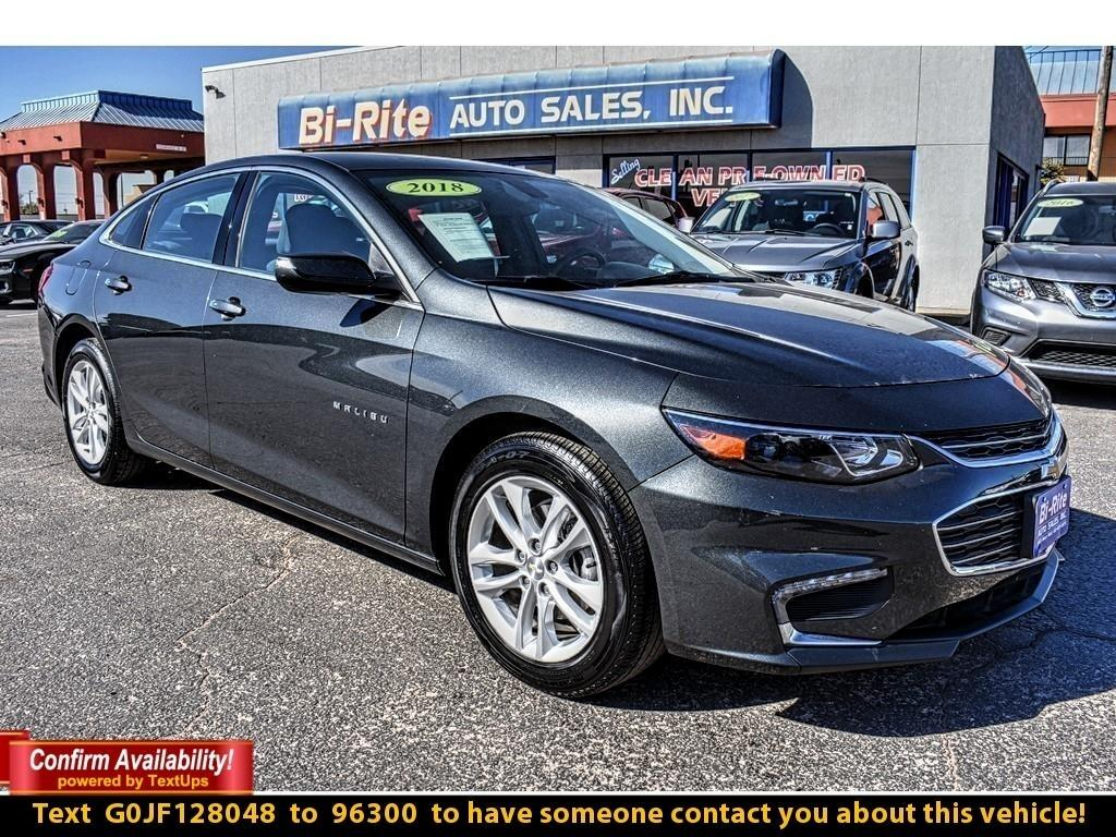 2018 Chevrolet Malibu 4DR SEDAN, RIDE IN STYLE AND SAVE TONS IN FUEL !!