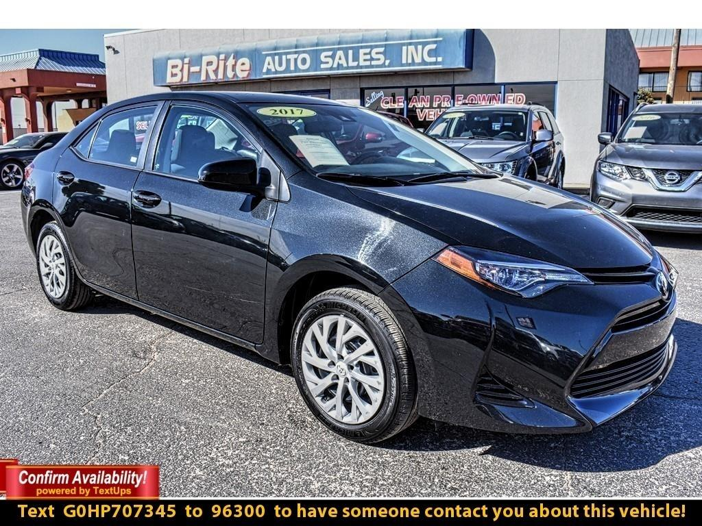 2017 Toyota Corolla 4DR SEDAN, FUEL EFFICIENT AND PRICED READY TO GO !