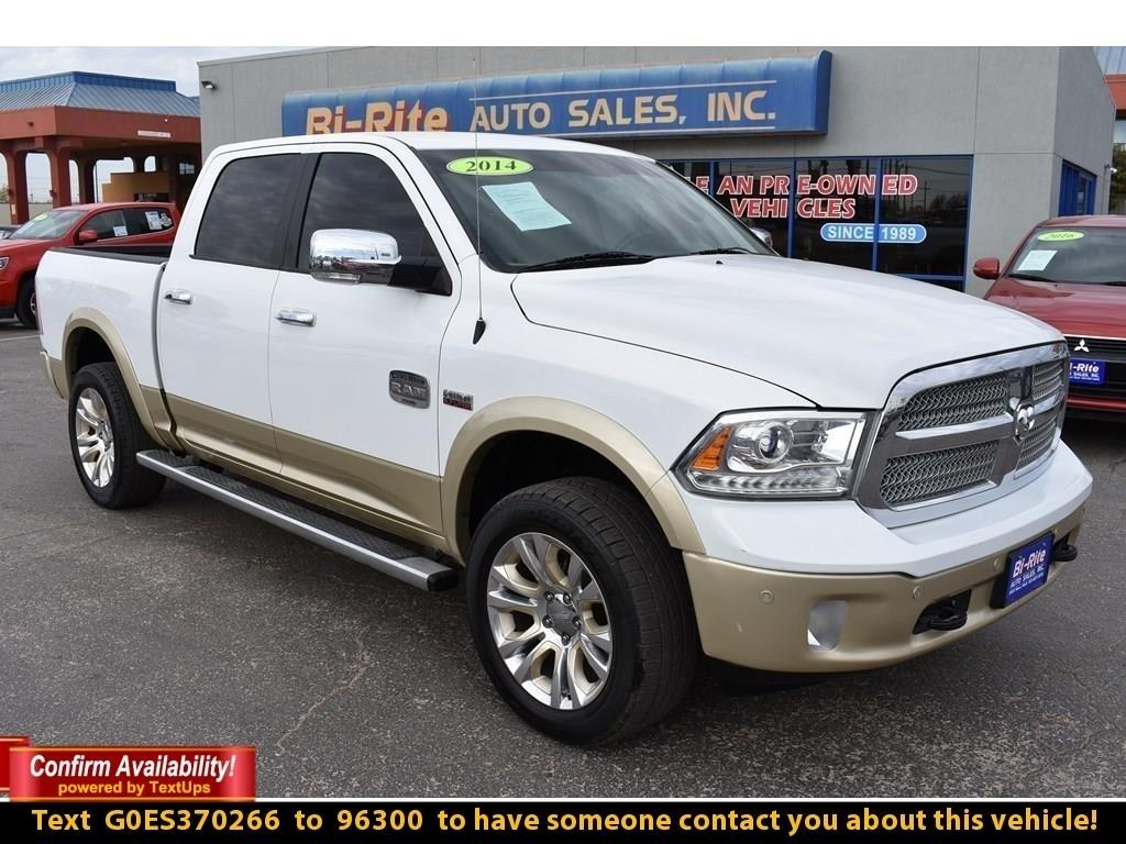 2014 RAM 1500 4WD CREW CAB LONGHORN LARIME, LOADED WITH ALL BELL