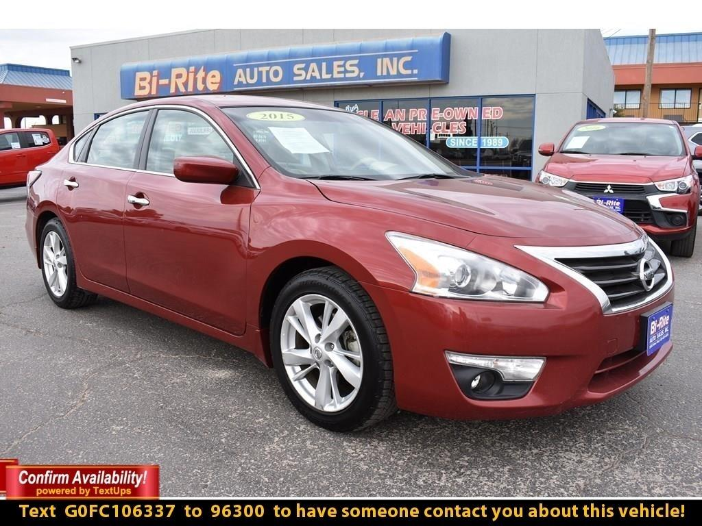 2015 Nissan Altima 4DR SEDAN, ALLOYS, GREAT GAS MILEAGE, MANAGER SPEC