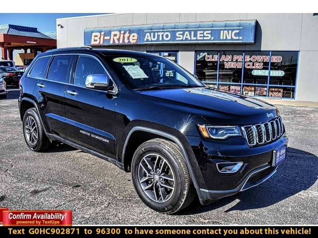 2017 Jeep Grand Cherokee WELL EQUIPED LIMITED, L;EATHER, ROOF, NAV, ALLOY W