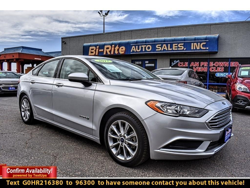 2017 Ford Fusion HYBRID SE, SUN ROOF, ALLOY WHEELS, FUEL EFFICIENT,