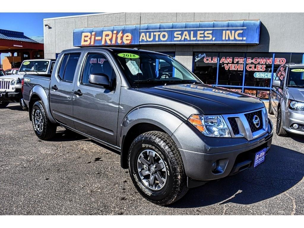2018 Nissan Frontier CREW CAB 4X4 PRO-4X, ALLOY WHEELS, TOW, A MUST SEE