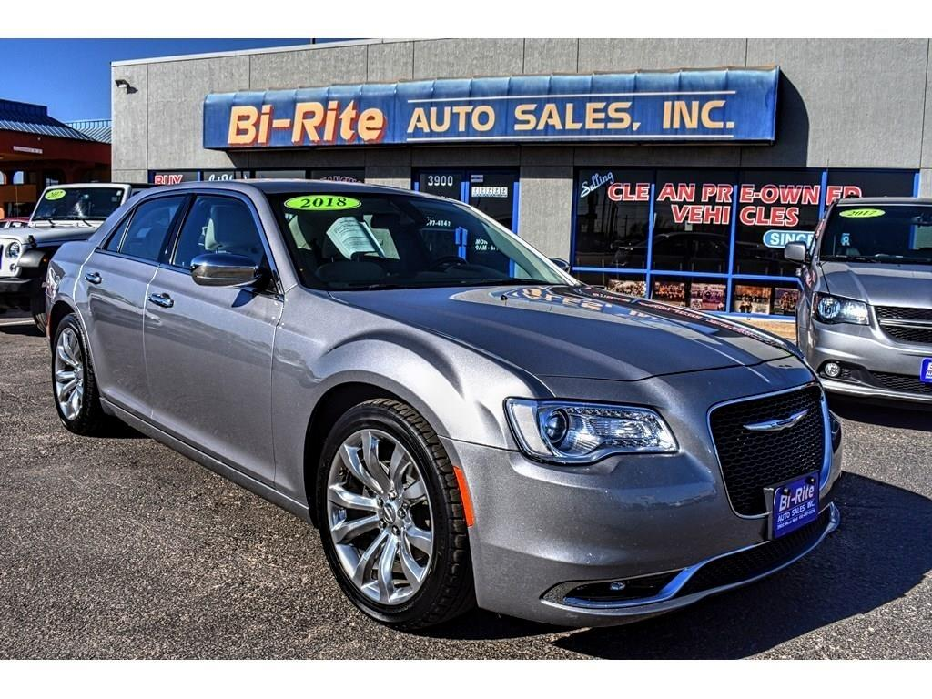 2018 Chrysler 300 LIMITED 300C, LEATHER, ALLOY WHEELS, V6, RIDE IN S