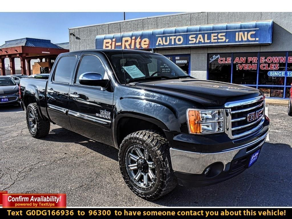 2013 GMC Sierra 1500 2WD, CREW CAB, SLE, ALLOY WHEELS, TOW PACKAGE, POW