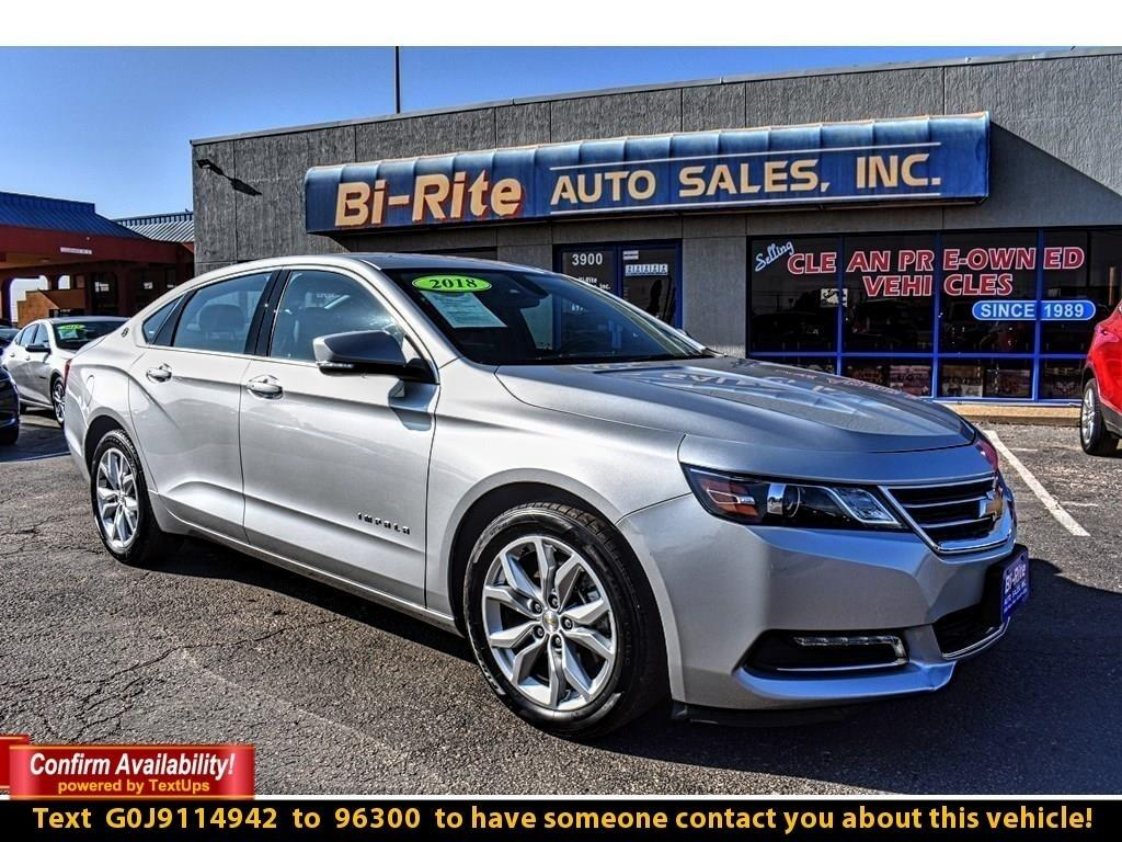 2018 Chevrolet Impala 4DR SEDAN, 1LT, COMFORT AND STYLE !!