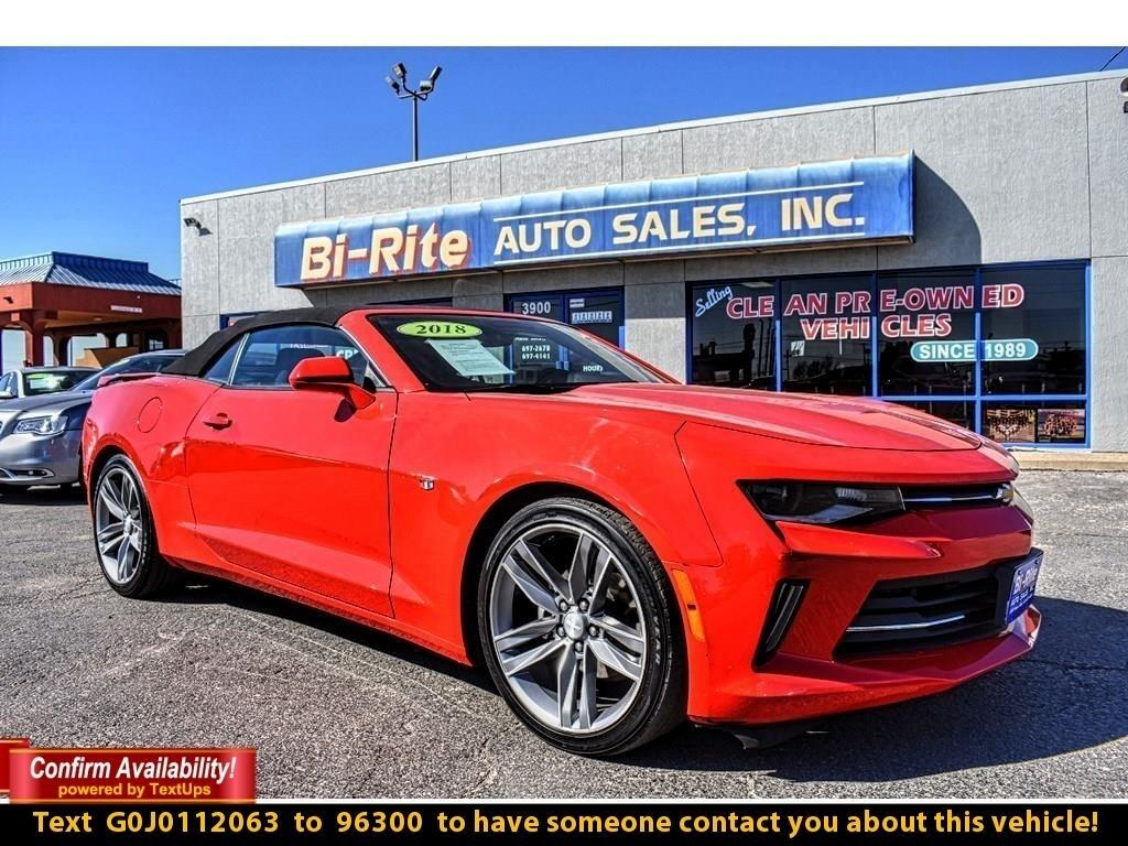 2018 Chevrolet Camaro 2DR COUPE, SPORTY, RS PACKAGE