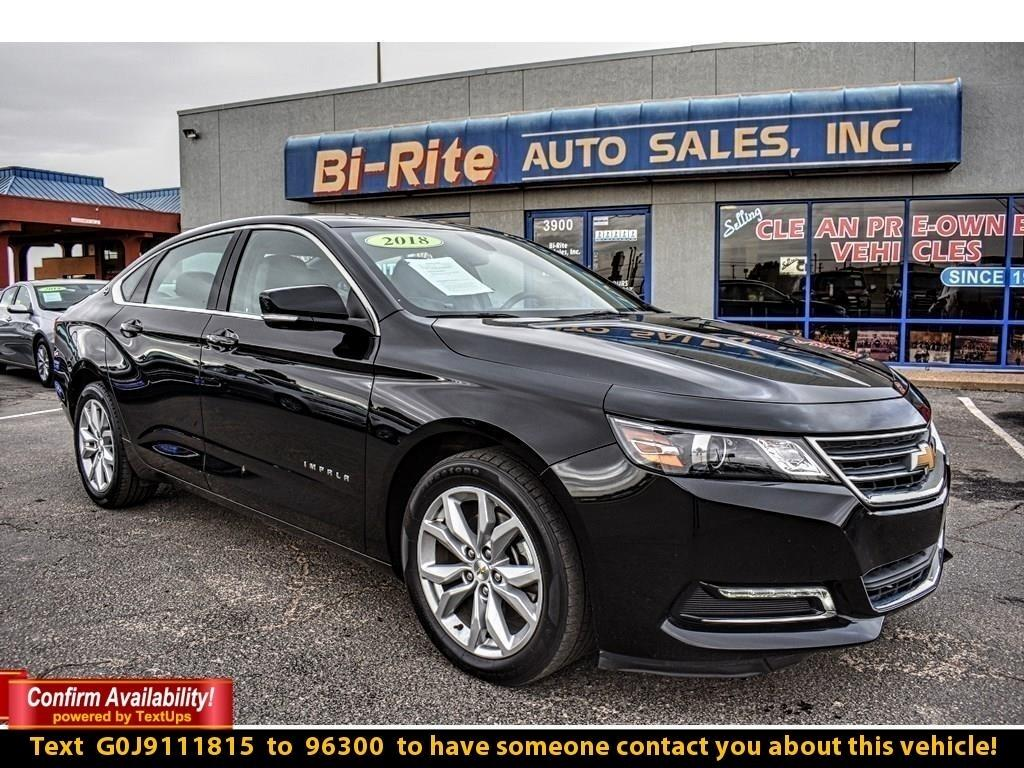 2018 Chevrolet Impala FULL SIZE FAMILY SEDAN WITH LT PACKAGE EZ TERMS