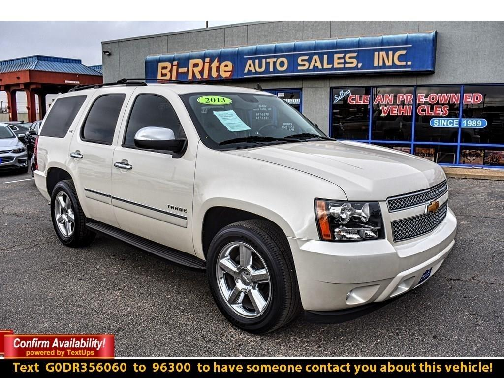 2013 Chevrolet Tahoe LTZ, CRYSTAL WHITE, LOADED, A MUST SEE !!