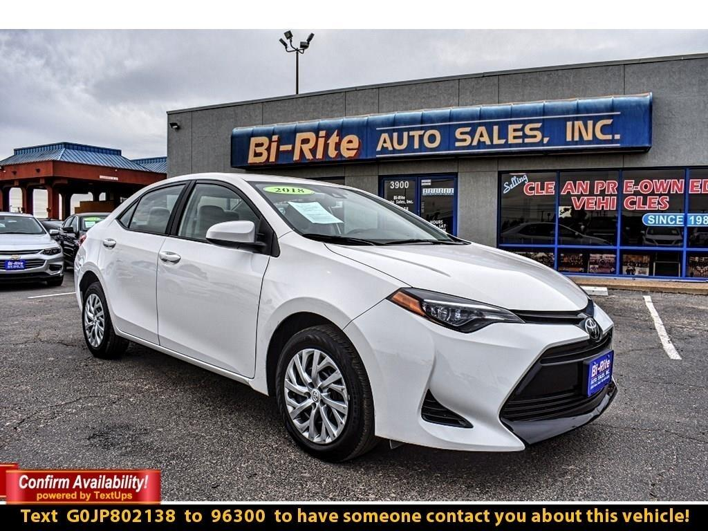 2018 Toyota Corolla LE MODEL, FUEL EFFICIENT & STYLISH !! ONE OWNER VE