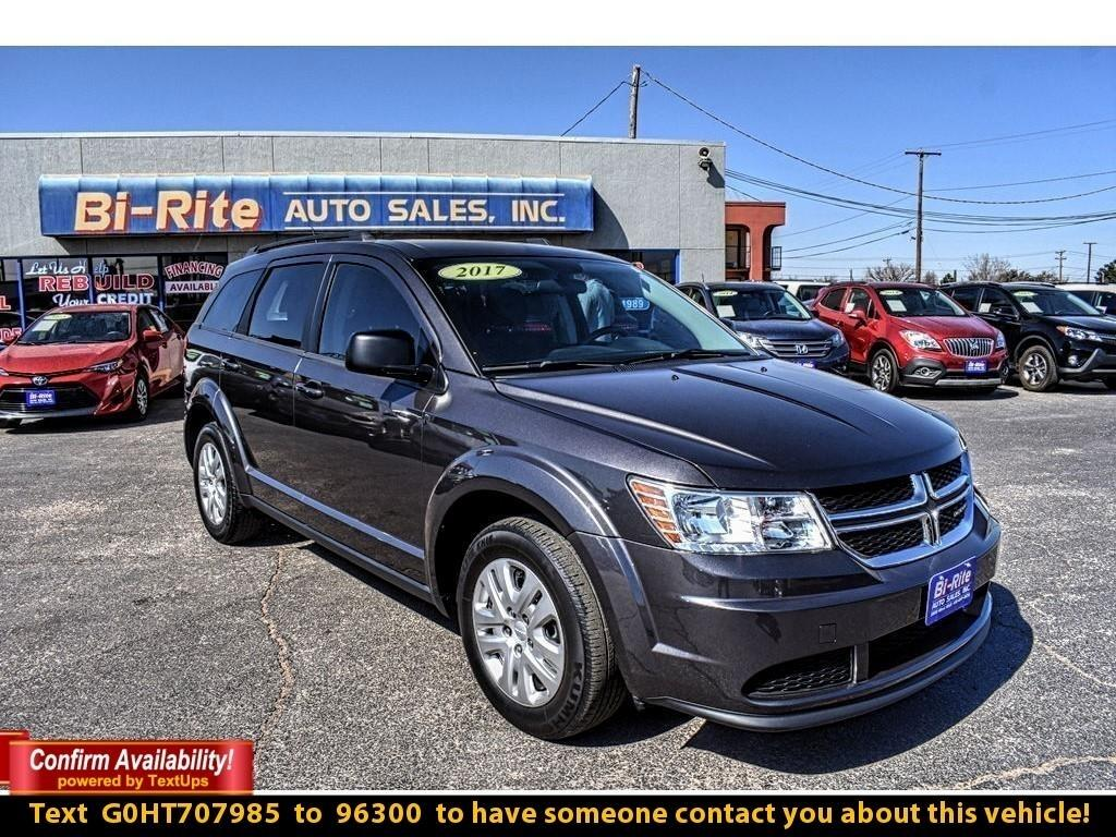 2017 Dodge Journey MID-SIZE CROSS OVER, FUEL EFFICIENT, ONE OWNER