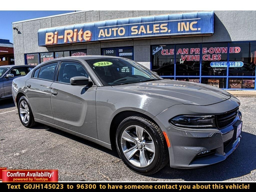 2018 Dodge Charger SXT PLUS, LOW MILES, ONE OWNER