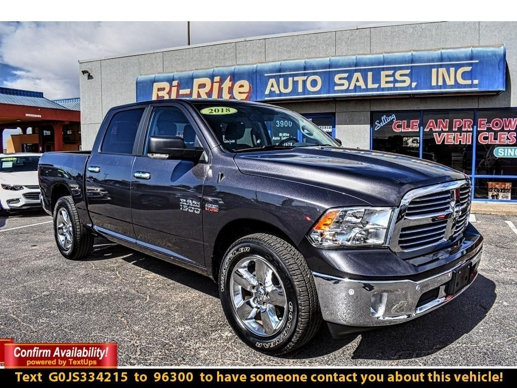 2018 RAM 1500 LONE STAR, HEMI 5.7, ALLOY WHEELS, TOW
