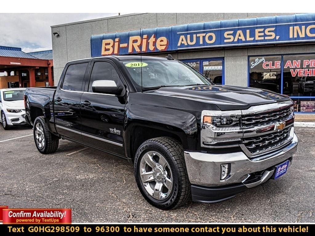 2017 Chevrolet Silverado 1500 LTZ, LEATHER, NAV, TOW, ALLOY WHEELS
