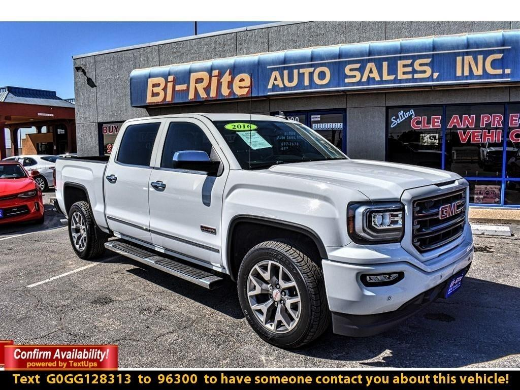 2016 GMC Sierra 1500 4WD SLT, ALL TERRAIN PACKAGE, LOADED !!