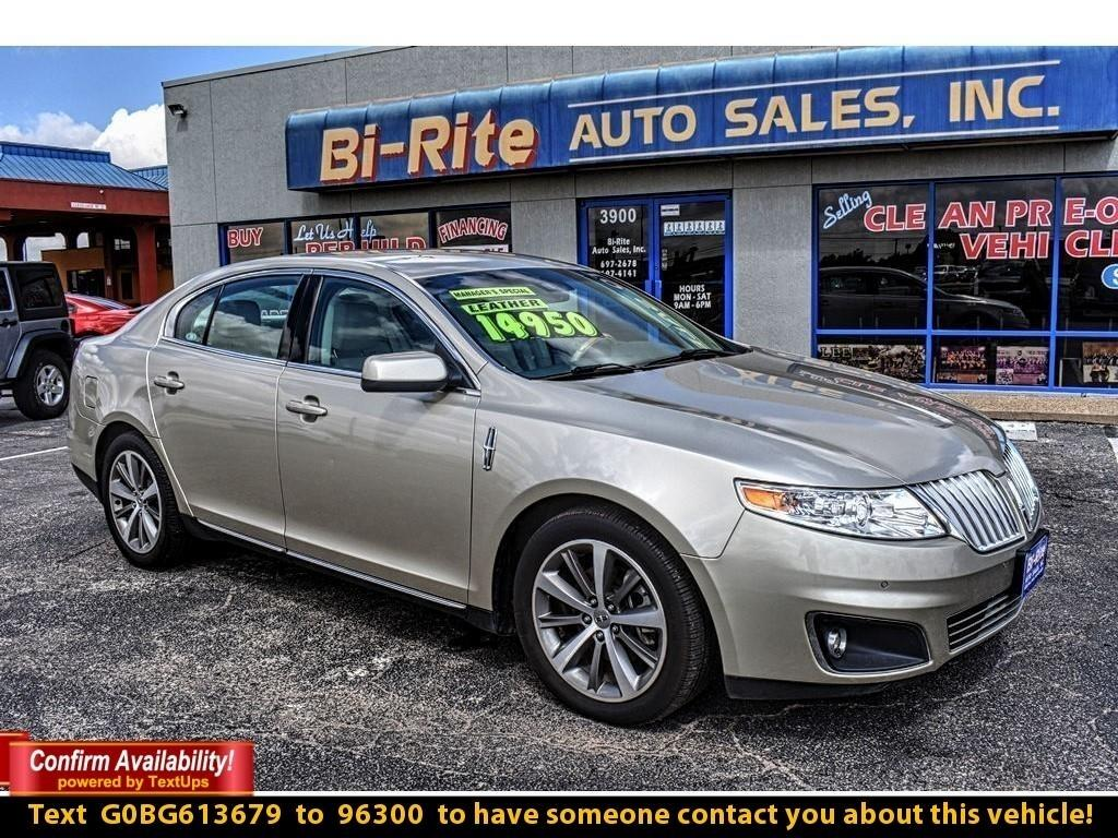 2011 Lincoln MKS EXTREMELY CLEAN CAR, LEATHER, POWER SEAT AND ALLOY