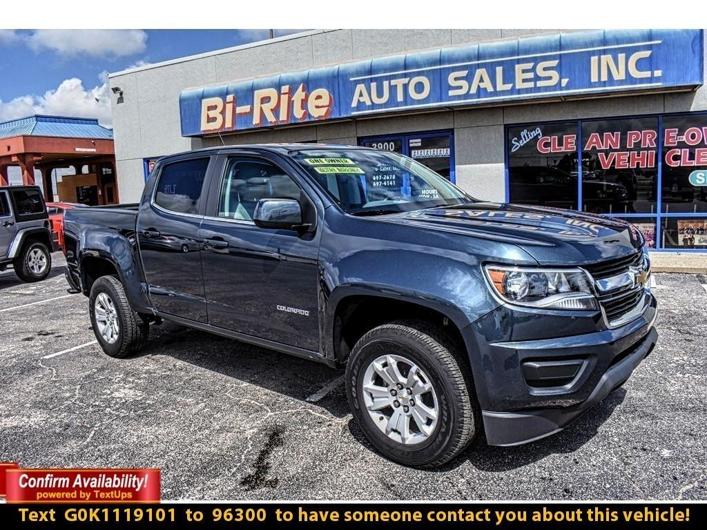 2019 Chevrolet Colorado CREW CAB V6 FACTORY WARRANTY SUPER CLEAN