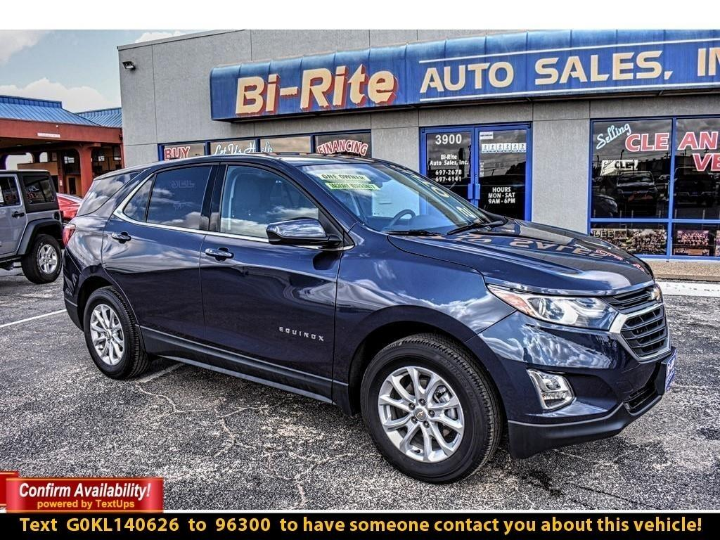 2019 Chevrolet Equinox 2019 MODEL ALL WHEEL DRIVE LT PACKAGE F/WARRANTY