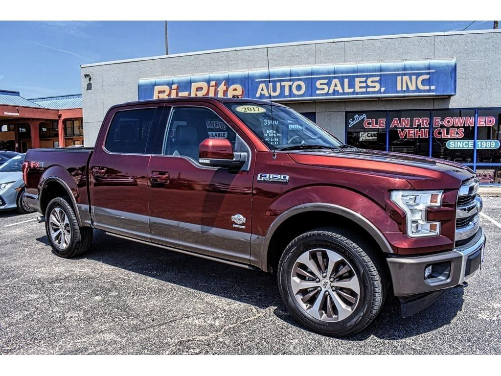 2017 Ford F-150 KING RANCH FX4 SUPERCREW VERY NICE LOADED!!!