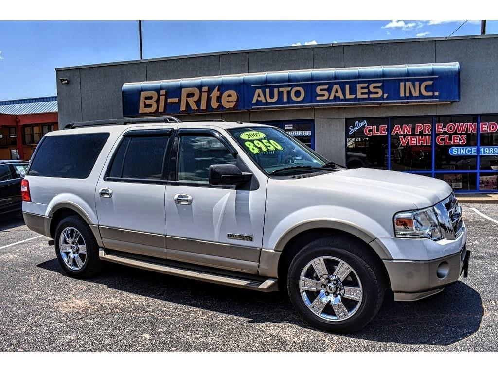 2007 Ford Expedition EL EXPEDITION EL EDDIE BOWER DVD LEATHER 3RD ROW
