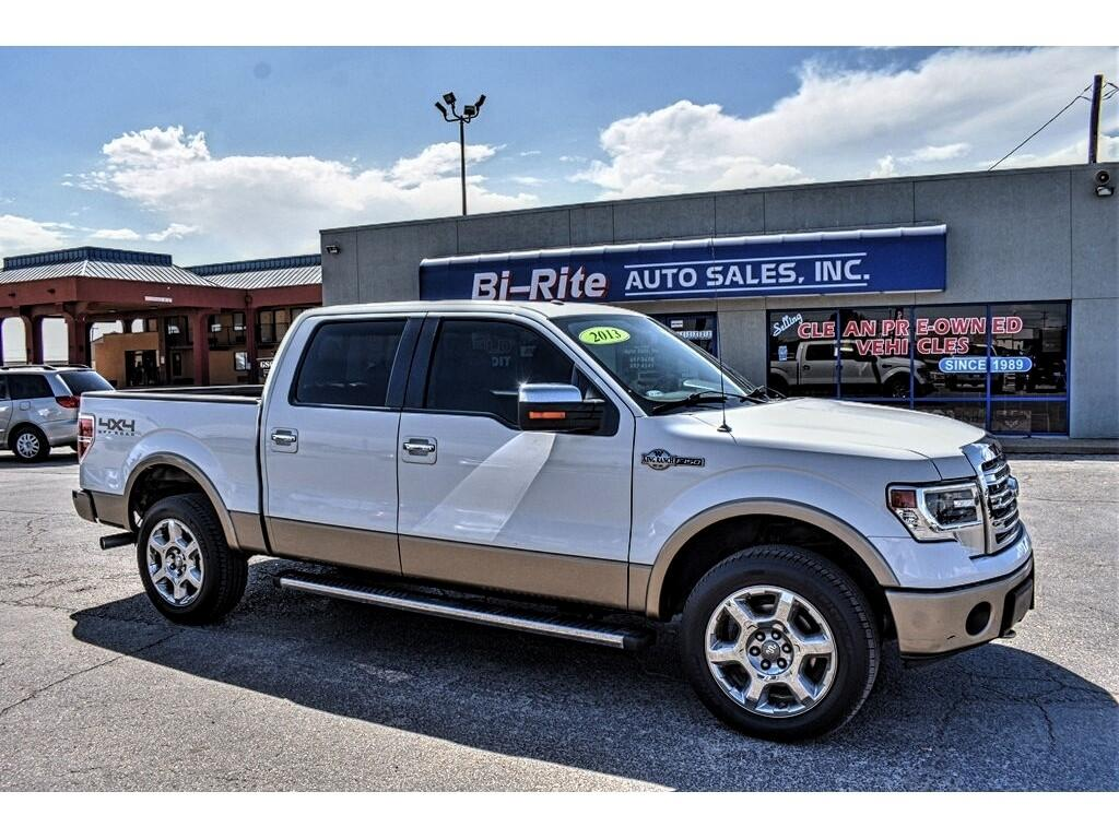 "Ford F-150 SuperCrew 150"" King Ranch 4WD 2013"