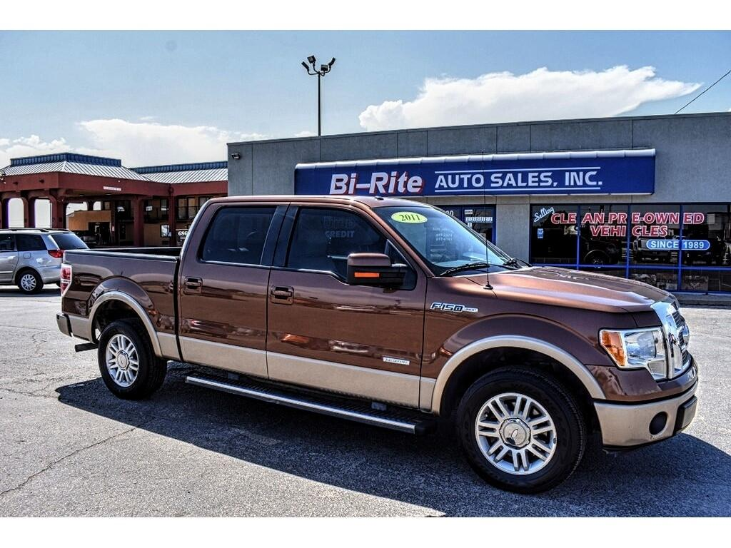 "Ford F-150 2WD SuperCrew 145"" Platinum 2011"