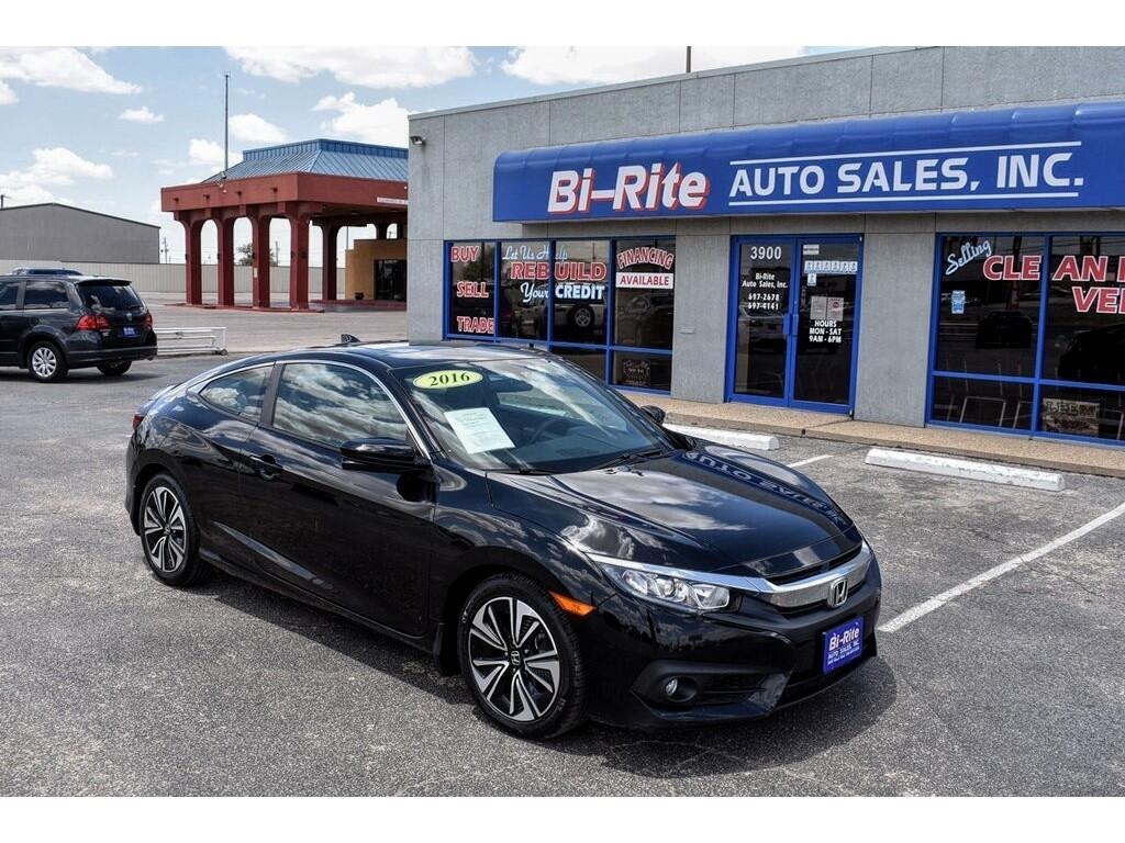 Honda Civic Coupe 2dr CVT EX-T 2016