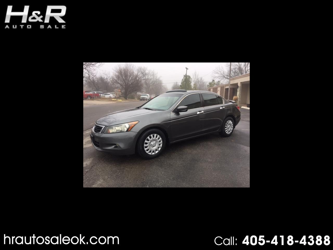 2008 Honda Accord EX-L V-6 Sedan AT