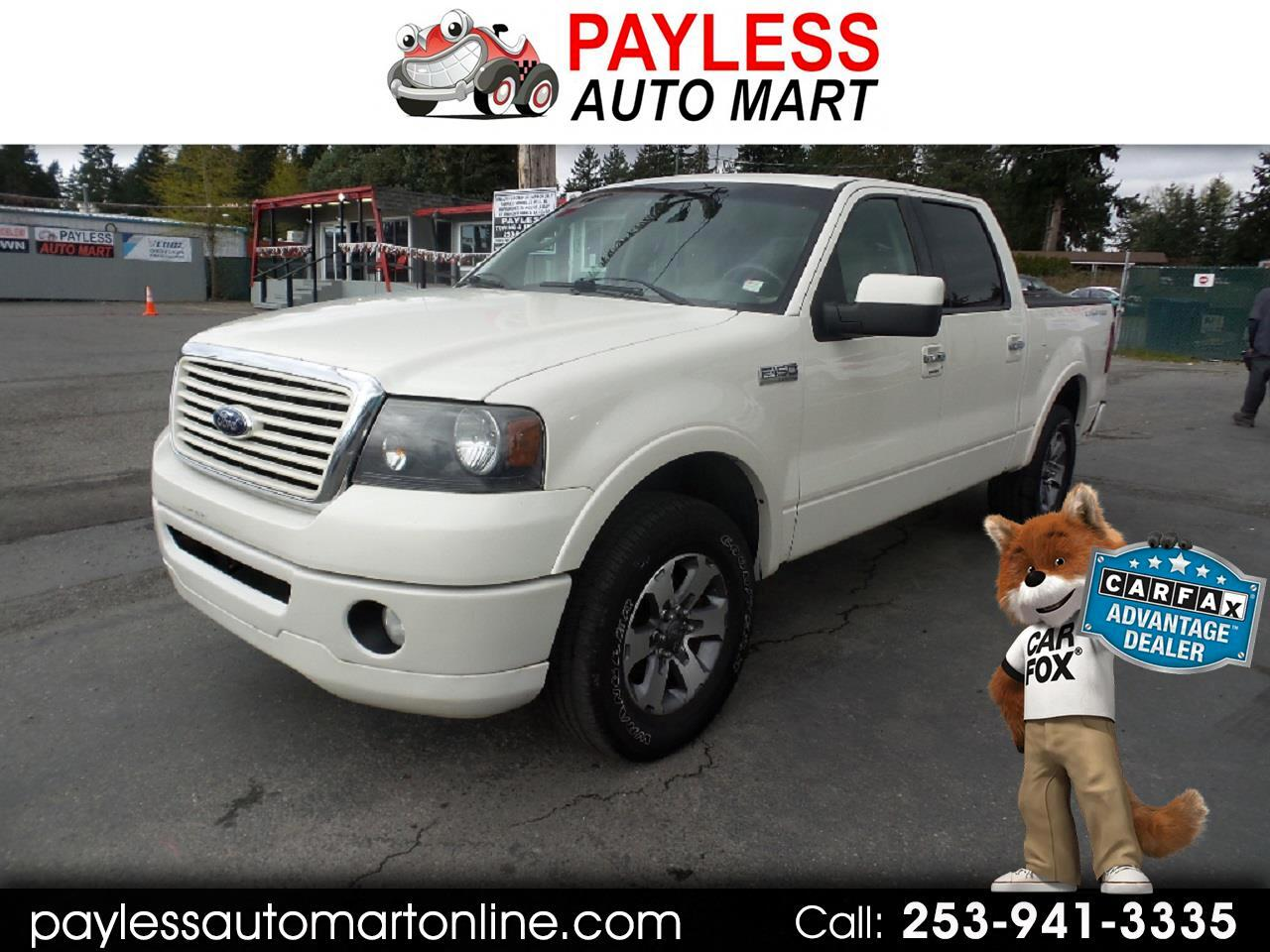 "2008 Ford F-150 4WD SuperCrew 145"" Limited"