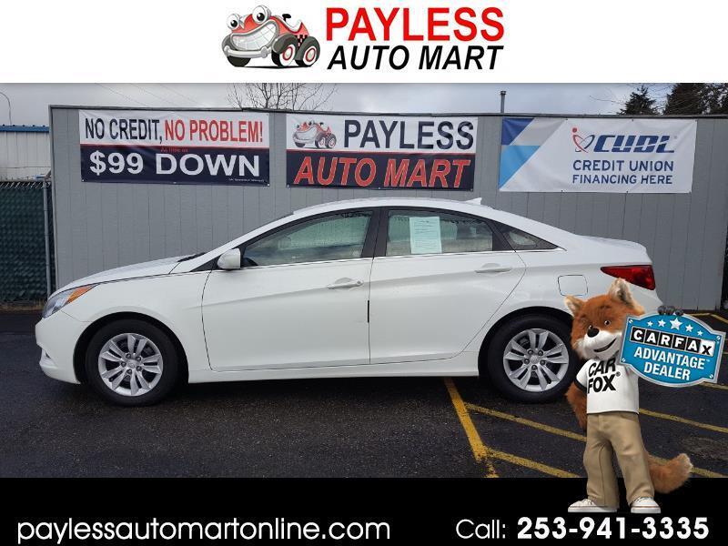 2013 Hyundai Sonata 4dr Sdn 2.4L Auto GLS PZEV *Ltd Avail*
