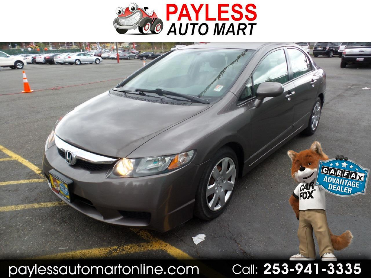 2011 Honda Civic Sdn 4dr Man LX
