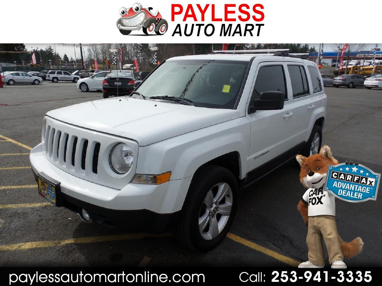 Jeep Patriot 4WD 4dr Latitude 2015