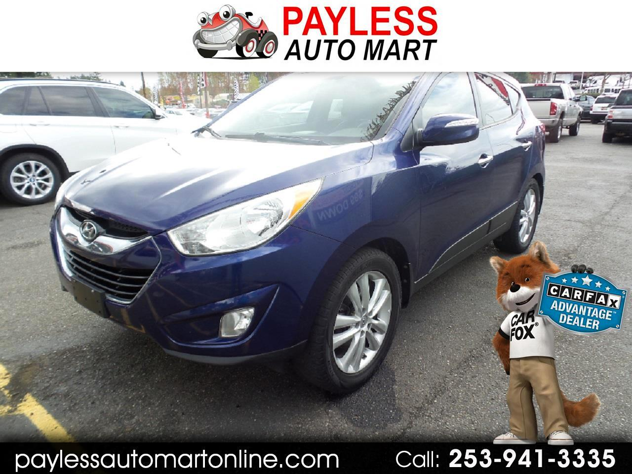 2013 Hyundai Tucson Limited.
