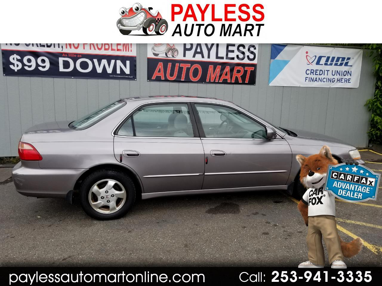 2000 Honda Accord Sdn 4dr I4 AT EX