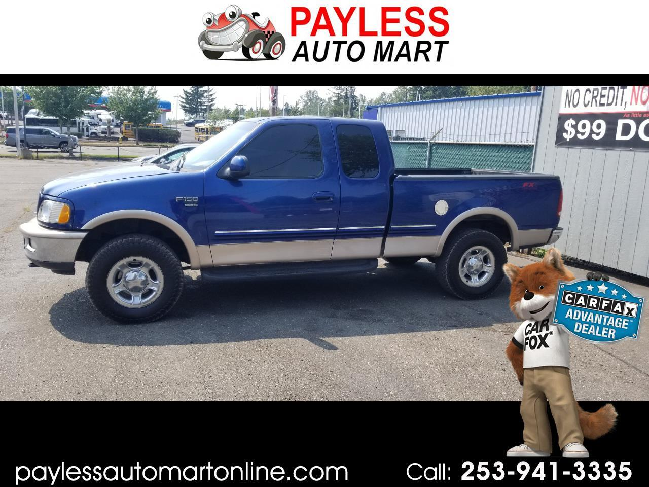 """Ford F-150 Supercab 139"""" 4WD 1998"""