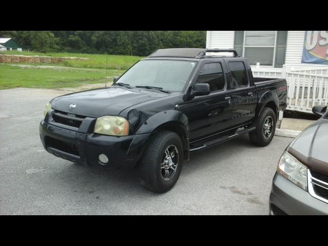 2001 Nissan Frontier SE V6 Crew Cab  4WD w/leather