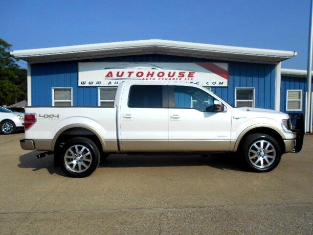2014 Ford F-150 King Ranch SuperCrew 6.5-ft. Bed 4WD