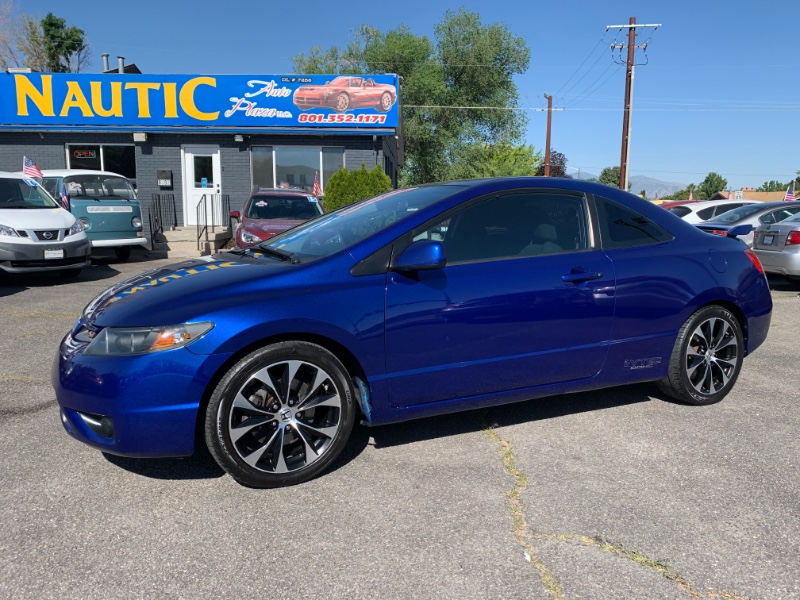 Honda Civic Si Coupe with Navigation and Performance Tires 2008
