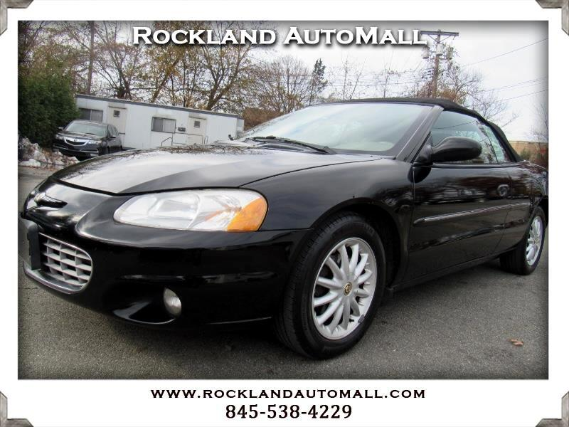 2002 Chrysler Sebring LXi Convertible