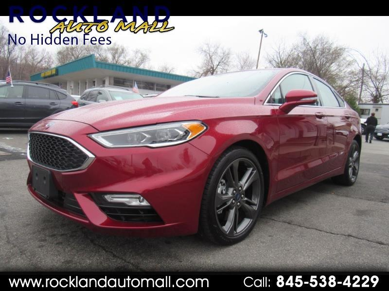 2017 Ford Fusion Sport w/EcoBoost